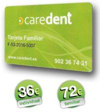 Dentista Albacete - tarjeta caredent