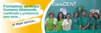 Equipo dentistas caredent Albacete