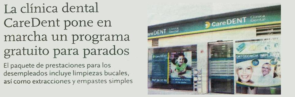 Clínica dental Albacete -Caredent en prensa